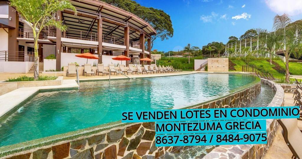 Lindos Lotes en Condominio Montezuma
