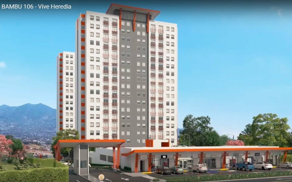 Apartamento Condominio Bambu 106 Heredia